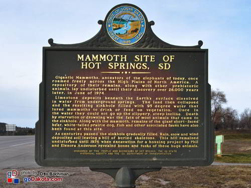 Mammoth Site of Hot Springs, South Dakota, Inc.