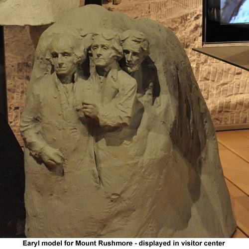 Mount Rushmore Early Model