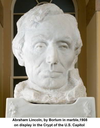 Abraham Lincoln, 1908, Bust