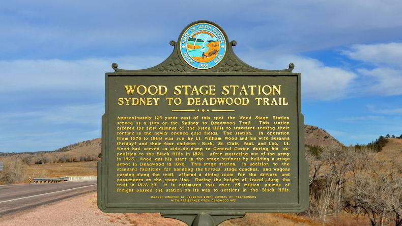 Wood Stage Station waypoint