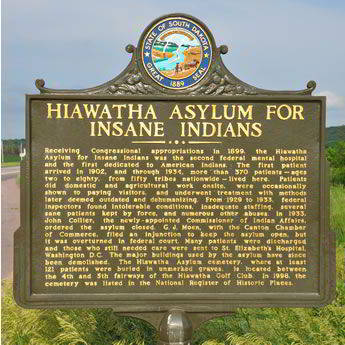 Hiawatha Asylum for Insane Indians