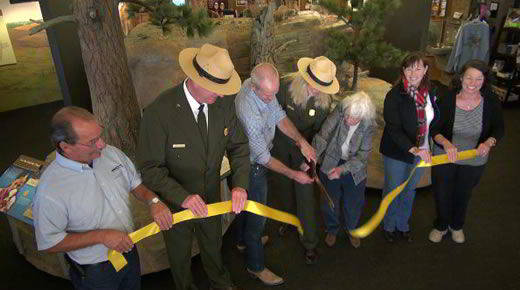 Ribbon Cutting Ceremony - Jewel Cave National Monument