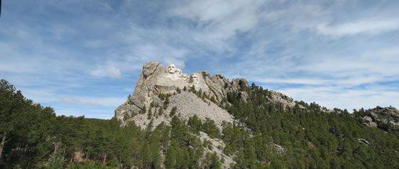 Mount Rushmore National Memorial Panorama